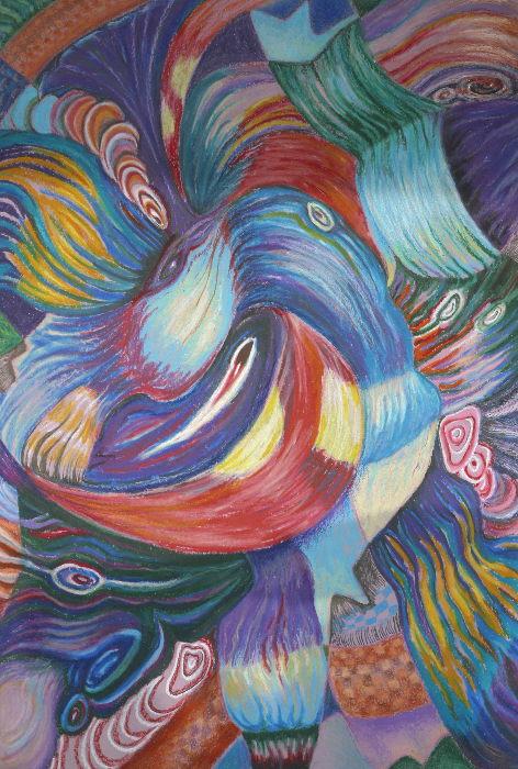 Cindy Betzer Pharis Portraits and Art - Oil Pastel